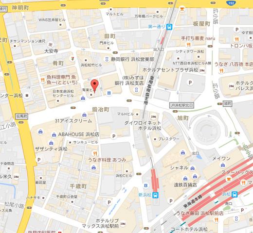 店舗周辺地図